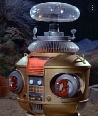 The first and original Robot B-9 (from Lost in Space)